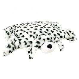 BO-MA Trading Polštářek Dalmatin s knoflíkem malý, 35 x 45 cm, 35 x 45 cm