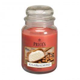 Price's Vonná svíčka ve skle Large Jar Sugar & Almond