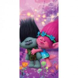Halantex Osuška Trolls Poppy a Brand, 70 x 140 cm