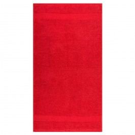Ručník Olivia červená, 50 x 90 cm
