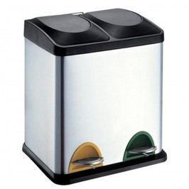 Toro Nerezový koš na tříděný odpad 15 l + 15 l 270234