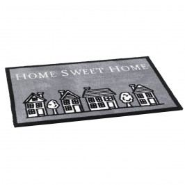 Vopi vnitřní rohožka Home sweet home grey, 50x75 cm