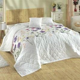 Bedtex Přehoz Nergiz lila, 220 x 240 cm, 2x 40 x 40 cm