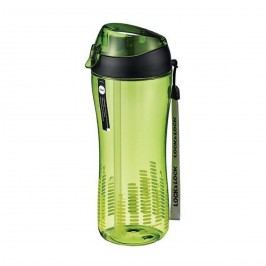 Sportovní lahev se silikonovým brčkem - zelená, LOCK & LOCK