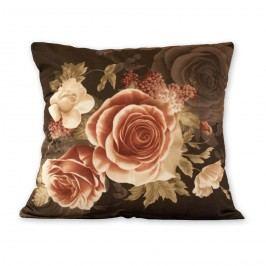 Jahu Povlak na polštářek Klasic růže černá, 45 x 45 cm