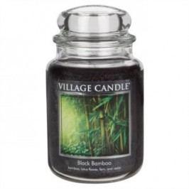 Village Candle Vonná svíčka ve skle, Bambus - Black Bamboo, 645 g, 645 g