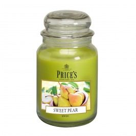 Price's Vonná svíčka ve skle Large Jar Sweet Pear