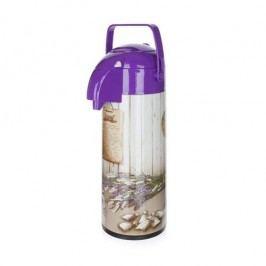 Culinaria Lavender Termoska s pumpou 1,9 l
