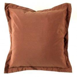 BO-MA Povlak na polštářek Elle hnědá, 45 x 45 cm,