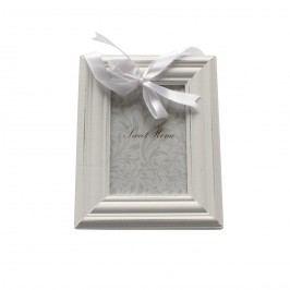 Závěsný fotorámeček bílá, 10 x 15 cm