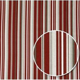 Bellatex Ubrus Ivo Proužek červená, 85 x 85 cm