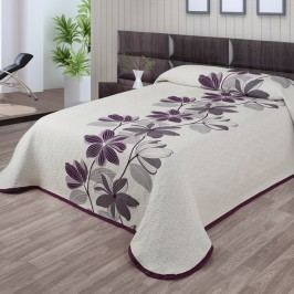 Přehoz na postel Azura fialová