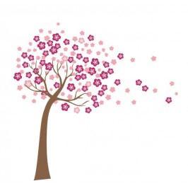 Samolepicí dekorace Kvetnoucí strom