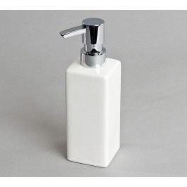 Dávkovač mýdla hladký, bílý