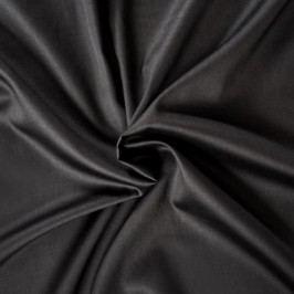 prostěradlo satén černé, 160 x 200 cm