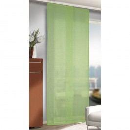 závěsový panel Alex zelená, 245 x 60 cm