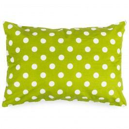 Povlak na polštářek Zelený puntík