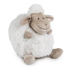 BO-MA Trading Polštářek Ovečka koule bílá, 25 cm, pr. 25 cm