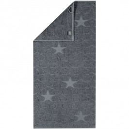 Cawö Frottier osuška Star šedá, 70 x 140 cm