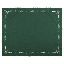 Vánoční ubrus 120 x 140 cm, zelený