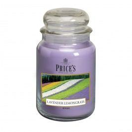 Price's Vonná svíčka ve skle Large Jar Lavender