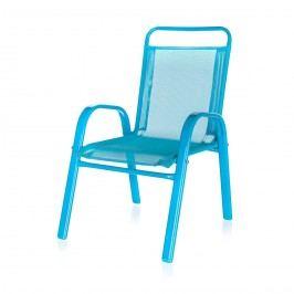 Dětská zahradní židle stohovatelná modrá 50XT2930A