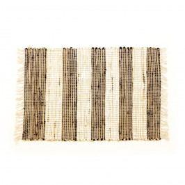 VOG Ručně tkaný koberec Juta tmavá, 60 x 90 cm