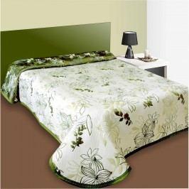 Přehoz na postel Lisbon zelený, 140 x 220 cm