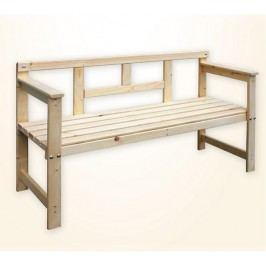 Happy Green Dřevěná zahradní lavice