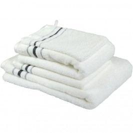 Cawö Frottier ručník White, 50 x 100 cm