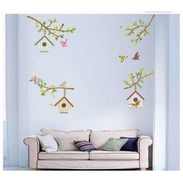SamolepiSamolepicí dekorace Ptačí budkycí dekorace Ptačí budky,