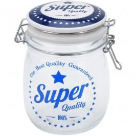 Sklenice s víkem Super Quality 700 ml