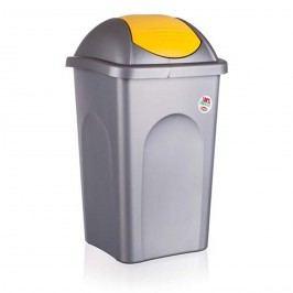Multipat odpadní koš 60 l žlutá 5570155 vetro-plus, žlutá, 60 l