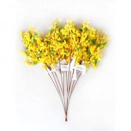 Umělá květina zlatý déšť, sada 12 ks, HTH