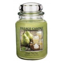 Village Candle Vonná svíčka ve skle, Hruškový fizz se zázvorem, 26oz, 645 g