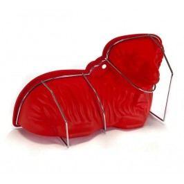 CULINARIA Forma silikonová Beránek červená, 30 x 16 x 9,5 cm