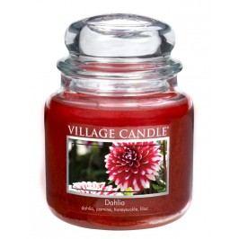 Village Candle Vonná svíčka ve skle, Dahlia, 397 g, 397 g