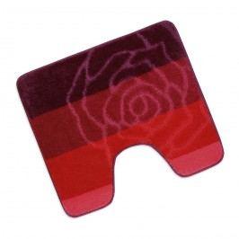 Bellatex Koupelnová předložka Elli Červená růže WC, 60 x 50 cm