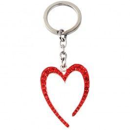 Bino Přívěsek - srdce, červené