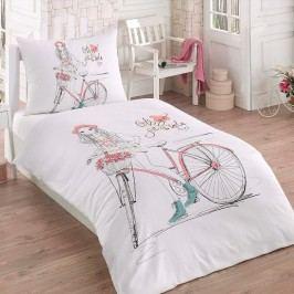 Bade Home 3D povlečení Bicykel 140 x 200 cm 70 x 90 cm.