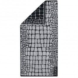 JOOP! Ručník Gala Croco Graphit, 50 x 100 cm