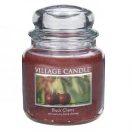 Village Candle Vonná svíčka ve skle, Černá třešeň - Black Cherry, 397 g, 397 g