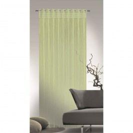 Provázková záclona Cord zelená, 90 x 245 cm