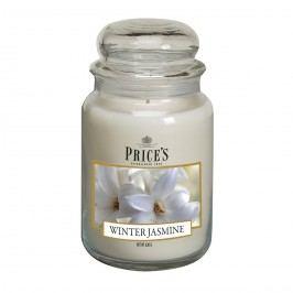 Price's Vonná svíčka ve skle Large Jar Winter Jasmine