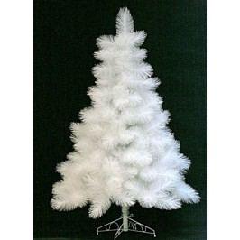 Umělý vánoční stromeček bílý, 185 cm - borovice