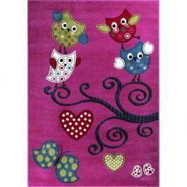 Vopi Dětský koberec Kids 420 Lila, 120 x 170 cm, 120 x 170 cm