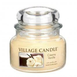 Village Candle Vonná svíčka ve skle, Vanilková zmrzlina - Creamy Vanilla, 269 g