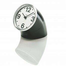 Alessi Stolní hodiny Cronotime 8,5 cm, černé