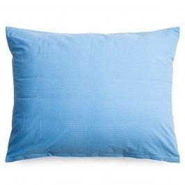povlak na polštář krep modrá