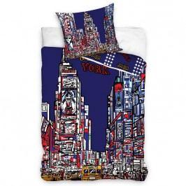 Carbotex Povlečení New York Times Square bavlna